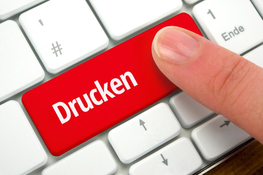 Tastatur - Taste Drucken - druckfaehiges PDF