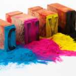 CMYK-Farbstempel - Farbmanagement