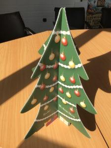 Aufsteller Weihnachtsbaum
