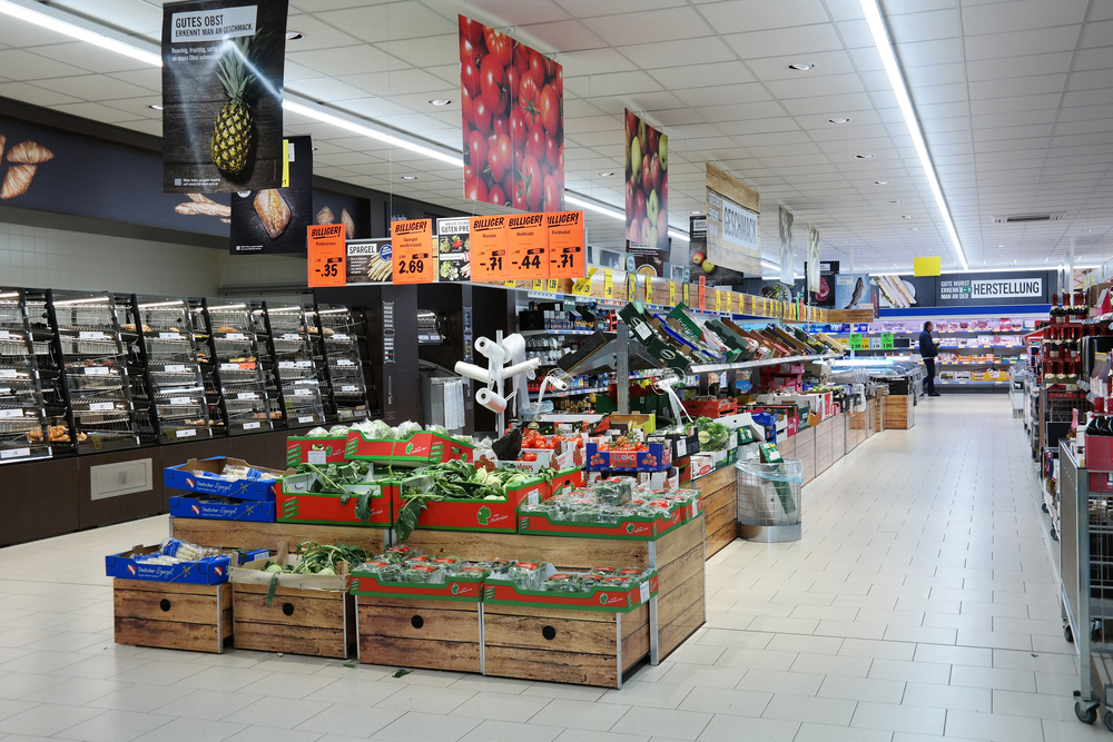 Point of Sale Supermarkt