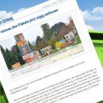 umweltfreundliches Recycling von Wahlplakaten