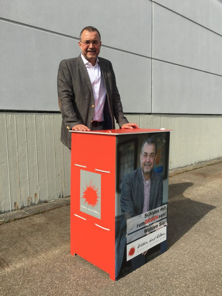 Wahlkampf Counter